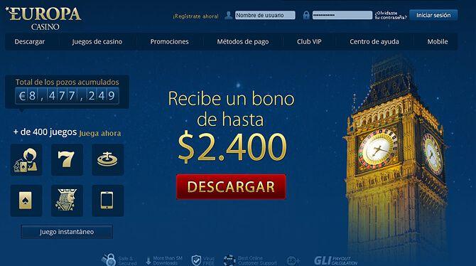 casino europa online para pc, mac y movil