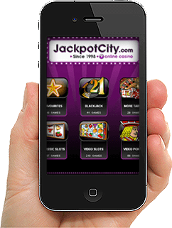 jackpot city para Android y iPhone
