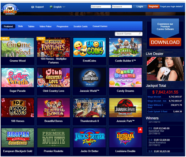 All slots casino juegos