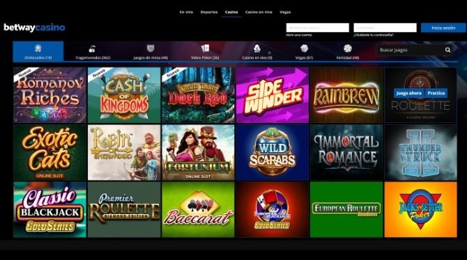 Betway Chile tragamonedas online, mesa de juegos, apuestas