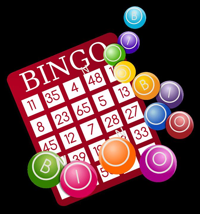 Cartón y Números de Bingo