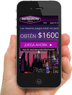jackpot city para Tablet, Android y iPhone