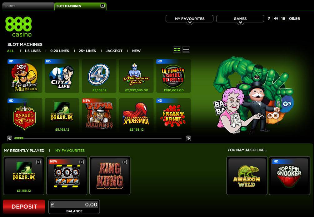 888 casino chile