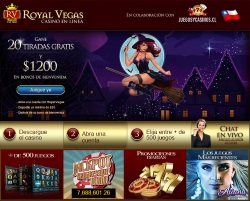 20 Tiradas Gratis en el casino Royal Vegas